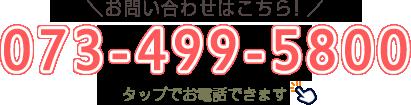 電話番号073-499-5800