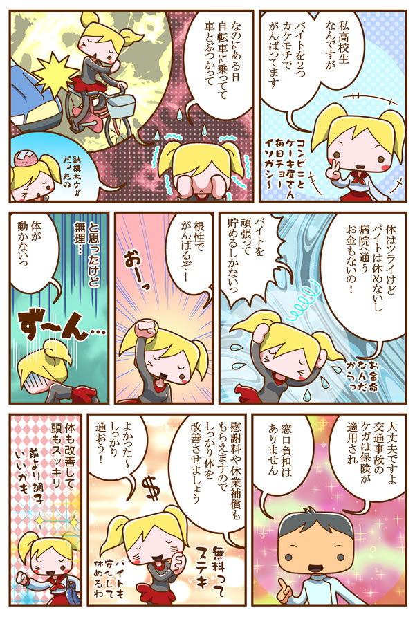 case4.交通事故・むち打ち治療マンガ