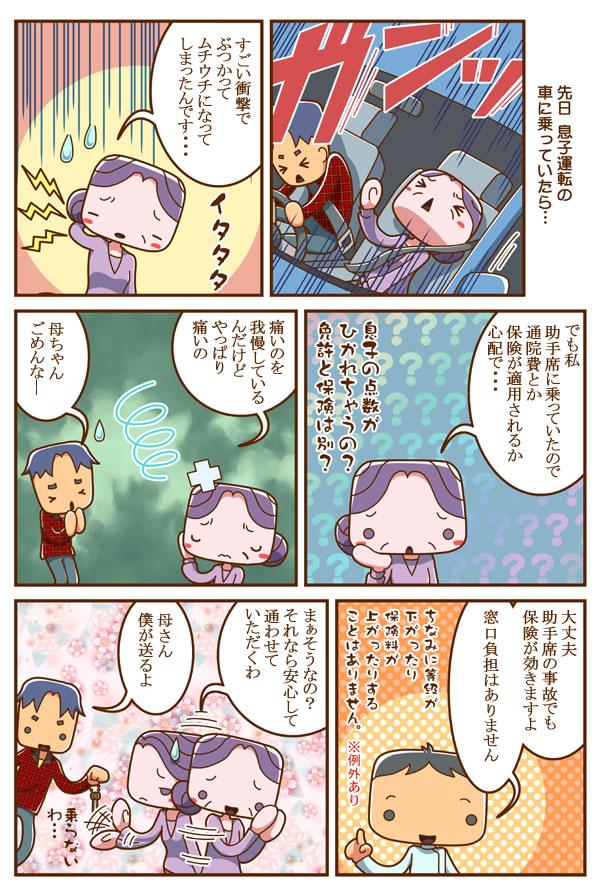case7.交通事故・むち打ち治療マンガ